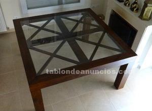 Mesa de comedor 150 cm x 150 cm
