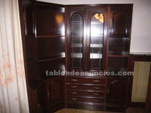 Mueble de salon con rinconera