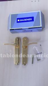 Lote 9 juegos de manillas puertas badenen mod. 550