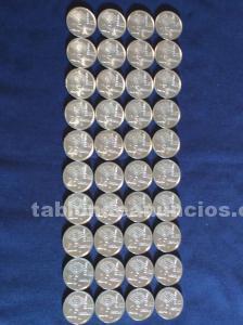 40 monedas 25 pesetas españa