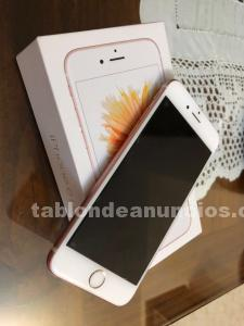 Se vende iphone 6s de color rosa, 16gb