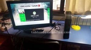 Xbox 360 slim 250gb más complementos y videojuegos