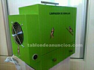 Limpiador de alpiste fabricado en dm