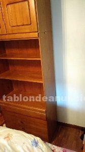 Vendo bonito armario / libreria pino macizo