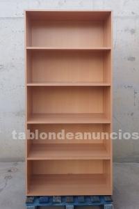 Estantería melamina 4 estante 80x40x180cm