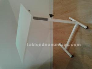 Mesa madera auxiliar sin pintar o decpada posot class - Mesa auxiliar cama ...