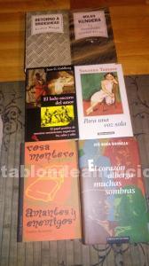 Libros de lectura varios títulos.