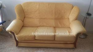 Sofa 3 plazas + 2 butacas, clasicos