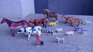 Surtido muñecos animales de granja