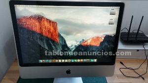 """Vendo apple imac 24"""" con disco ssd en muy buen estado"""