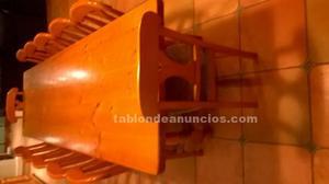 Se vende preciosa mesa madera de 3 metros