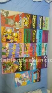 Colección de comics de los simpsons