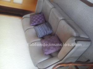 Conjunto de sofá y 2 butacas