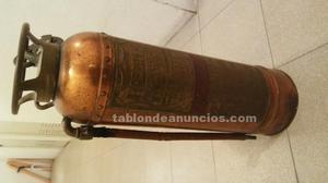 Extintor vintage