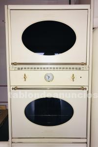 Horno smeg + porta horno microondas