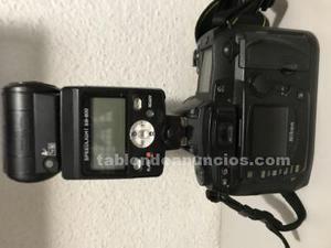 Nikon d70 con flash nikon sb800