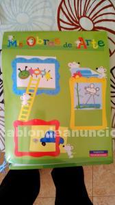Póster infantil de tela para poner dibujos