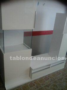 Mueble blanco de comedor