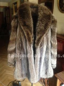 Vendo abrigo de piel de marmota