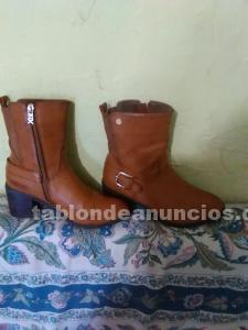 Vendo botas de cuero poco uso