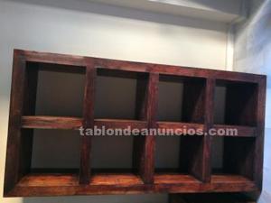 Mueble tv, mesa centro y estanteria