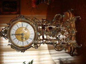 Oferta!! reloj de sobremesa base marmol