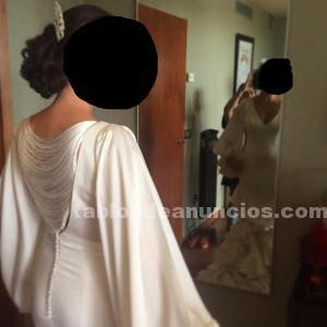 Vestido novia vicky martín berrocal