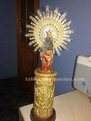 Imagen de la virgen del pilar