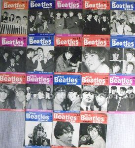 18 revistas ''the beatles monthly book'' ()