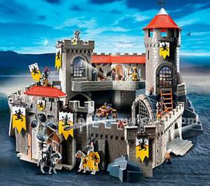 Gran castillo de playmobil impecable