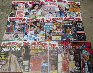 Lote de 80 revistas ''gigantes del basket'' ()