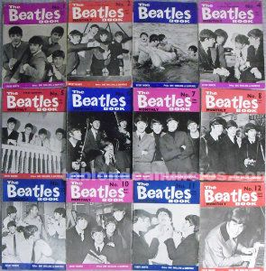 Revista ''the beatles monthly book'' - 12 primeros números