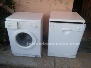 Lavadora y lavavajillas