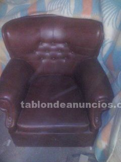 Sofa cama vintage 3 plazas + 2 de 1 plaza