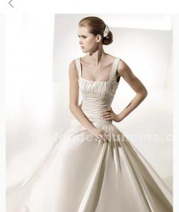 Vestido de novia manuel mota
