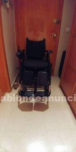Se vende silla de ruedas electrica muy completa