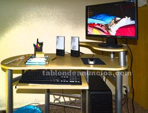 Ordenador de mesa completo (incluida mesa)