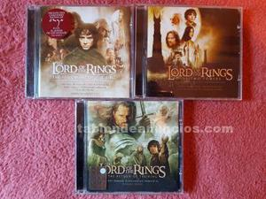 Banda sonora el señor de los anillos