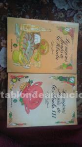 """Libros de """"los mejores menús de la abuela"""""""