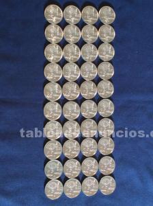 40 monedas 50 pesetas