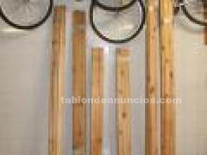 Listones de madera para suelo o pared