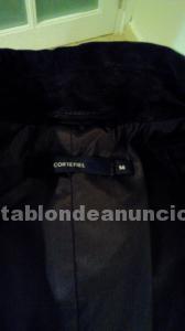 Conjunto de abrigo y pantalón