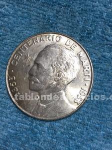 Monedas plata cubanas