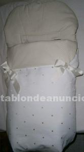 Vendo precioso saco de silla universal en tonos beis
