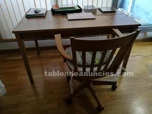 Mesa escritorio y silla oficina