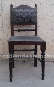 Lote 3 sillas antiguas