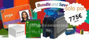 Impresora datacard sd160 + software card presso xs y caja de