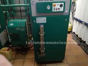 Compresor de buceo y blender de gases