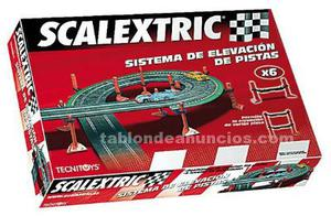 Scalextric xtreme rally + elevación de pistas + recambios