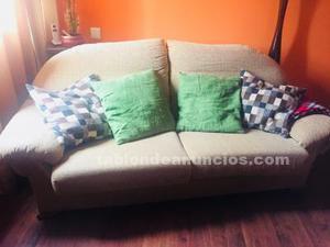 Sofas conjunto 3+2 plazas